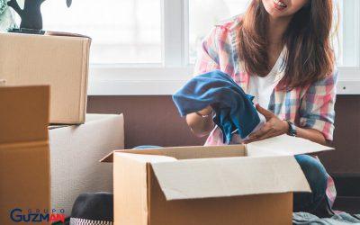 Consejos para empaquetar ropa en una mudanza